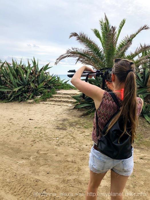 Я, собственной персоной, на пляже Альтафулья в Каталонии
