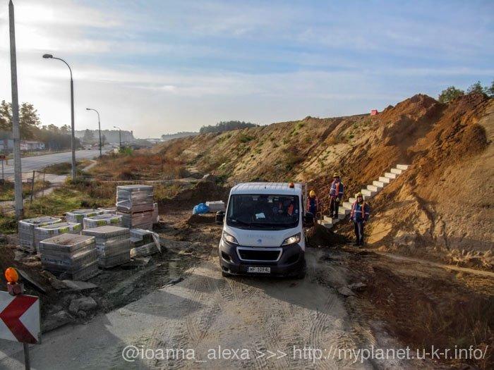 «Археологічні розкопки» на дорозі Люблін — Варшава
