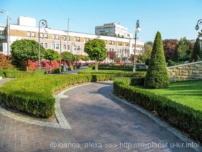 Парк Гейдара Алиева – восхитительная достопримечательность Киева