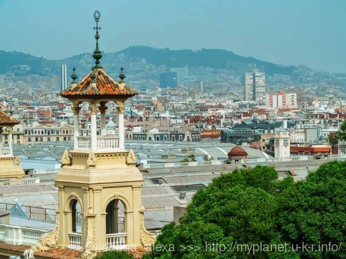 Еще одна восхитительная панорама Барселоны