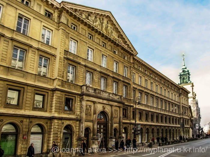 Дворец Замойских в Варшаве