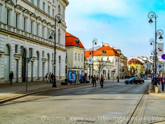 Краковское предместье и Старый город в Варшаве