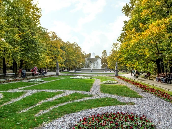 Саксонский сад в Варшаве