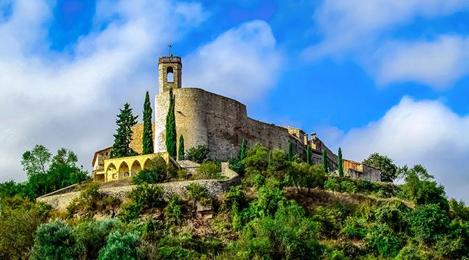 Древняя крепость Монтефалько Мураллат